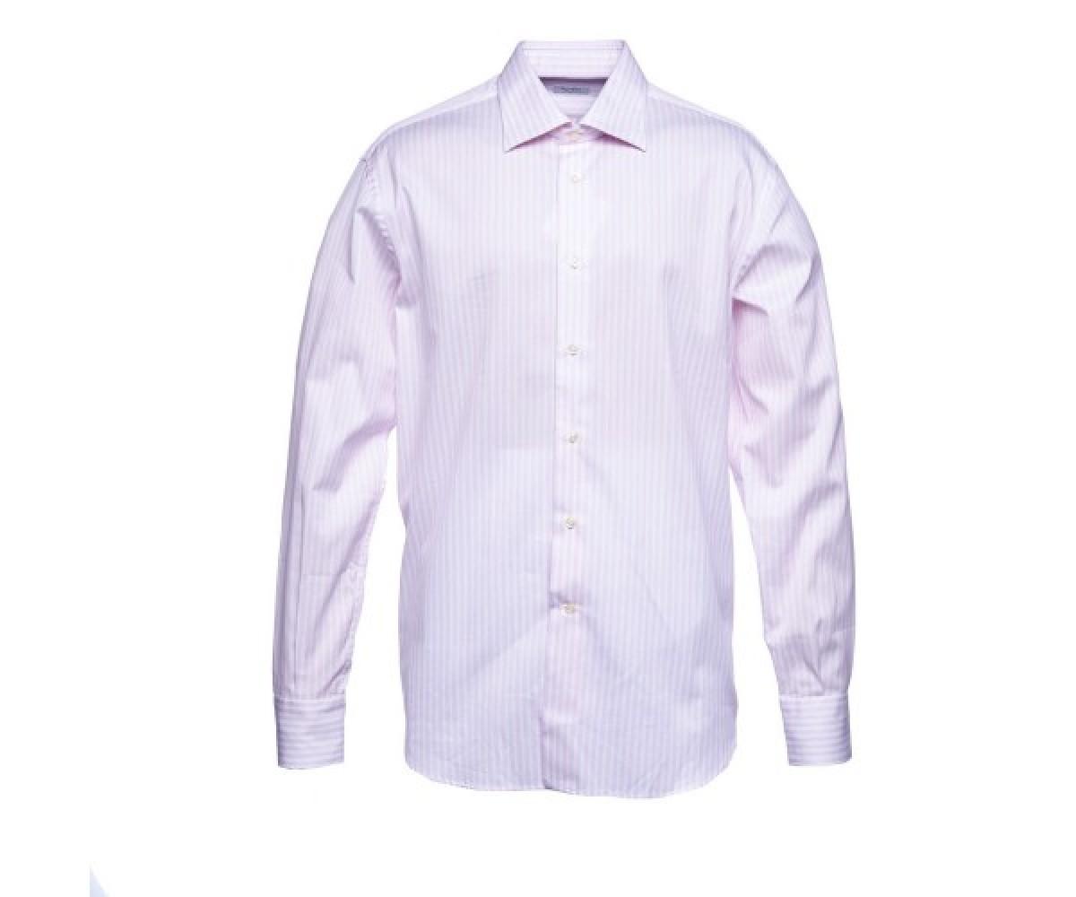 Мужская рубашка в мелкую полоску Delsiena