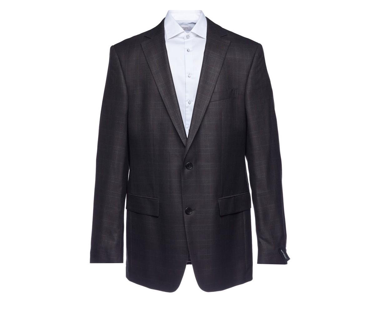 Пиджак мужской серый в клетку Windsor