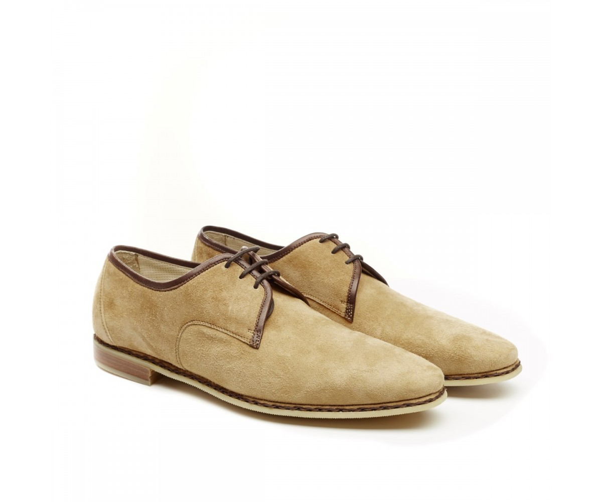 Туфли мужские из нубука Fratelli Borgioll