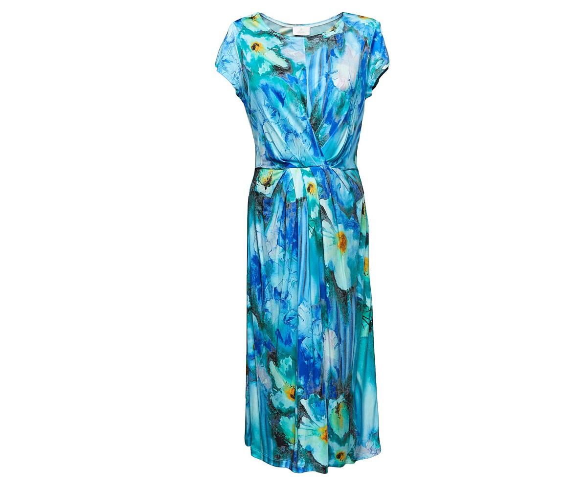 Женское платье с цветочным принтом Elegance