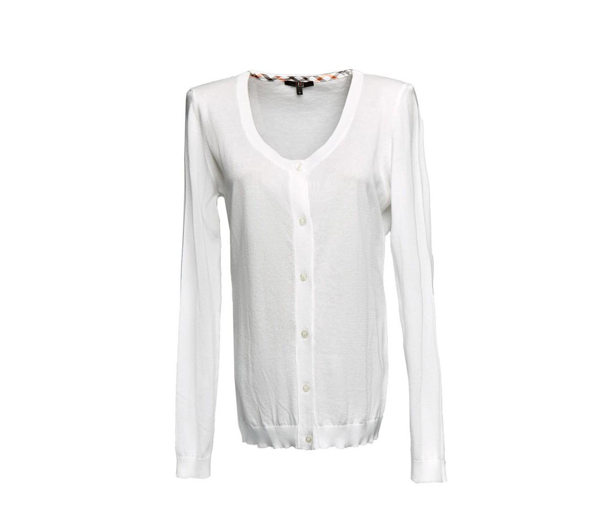 Пуловер женский белый Daks