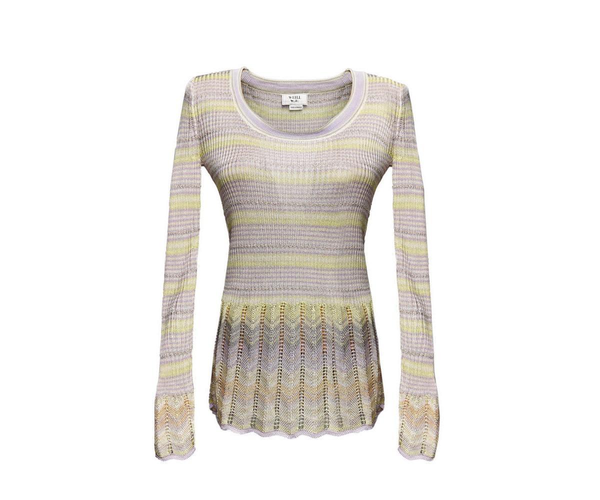 Пуловер женский оригинального дизайна Weill