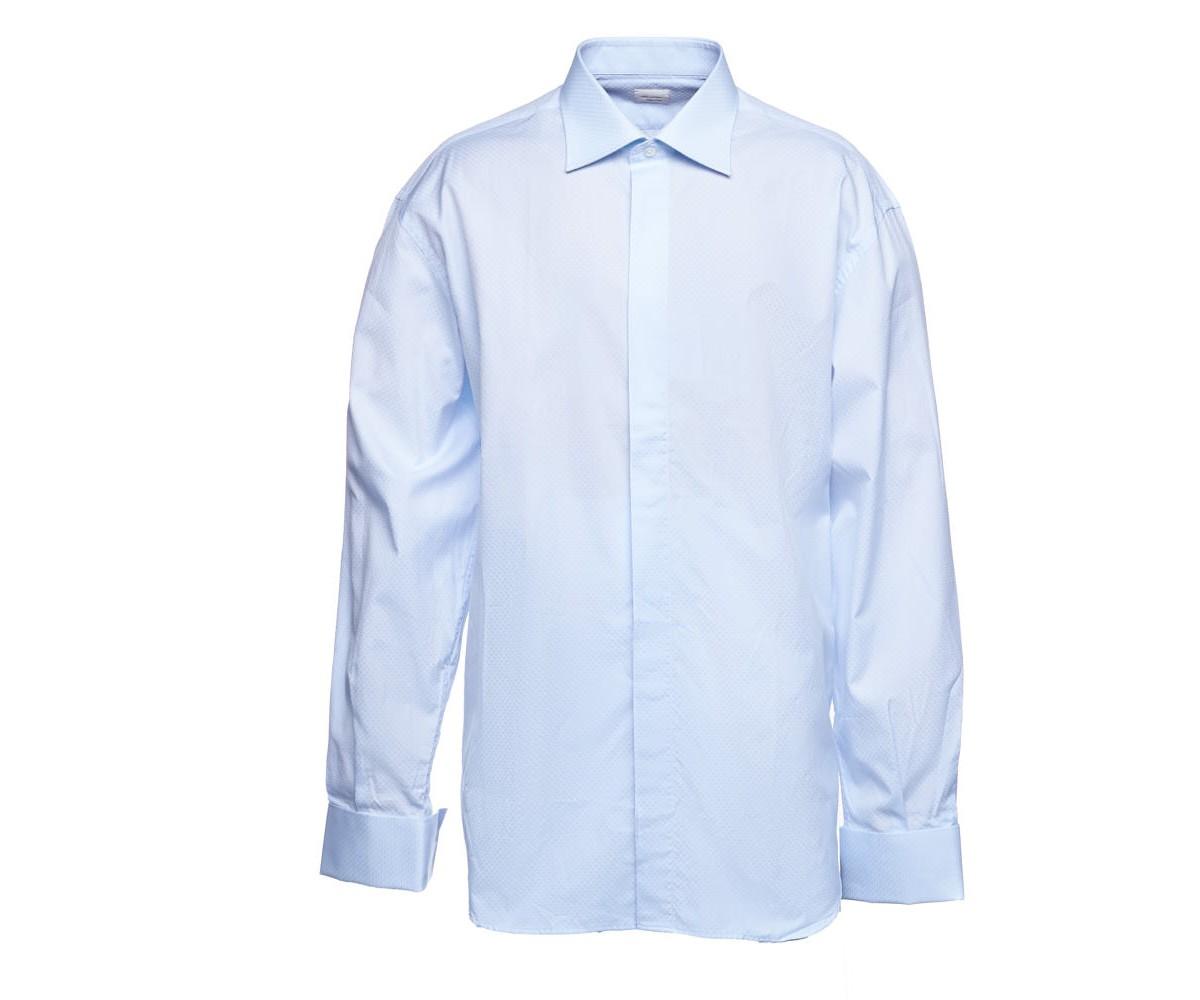 Мужская рубашка светлая Delsiena