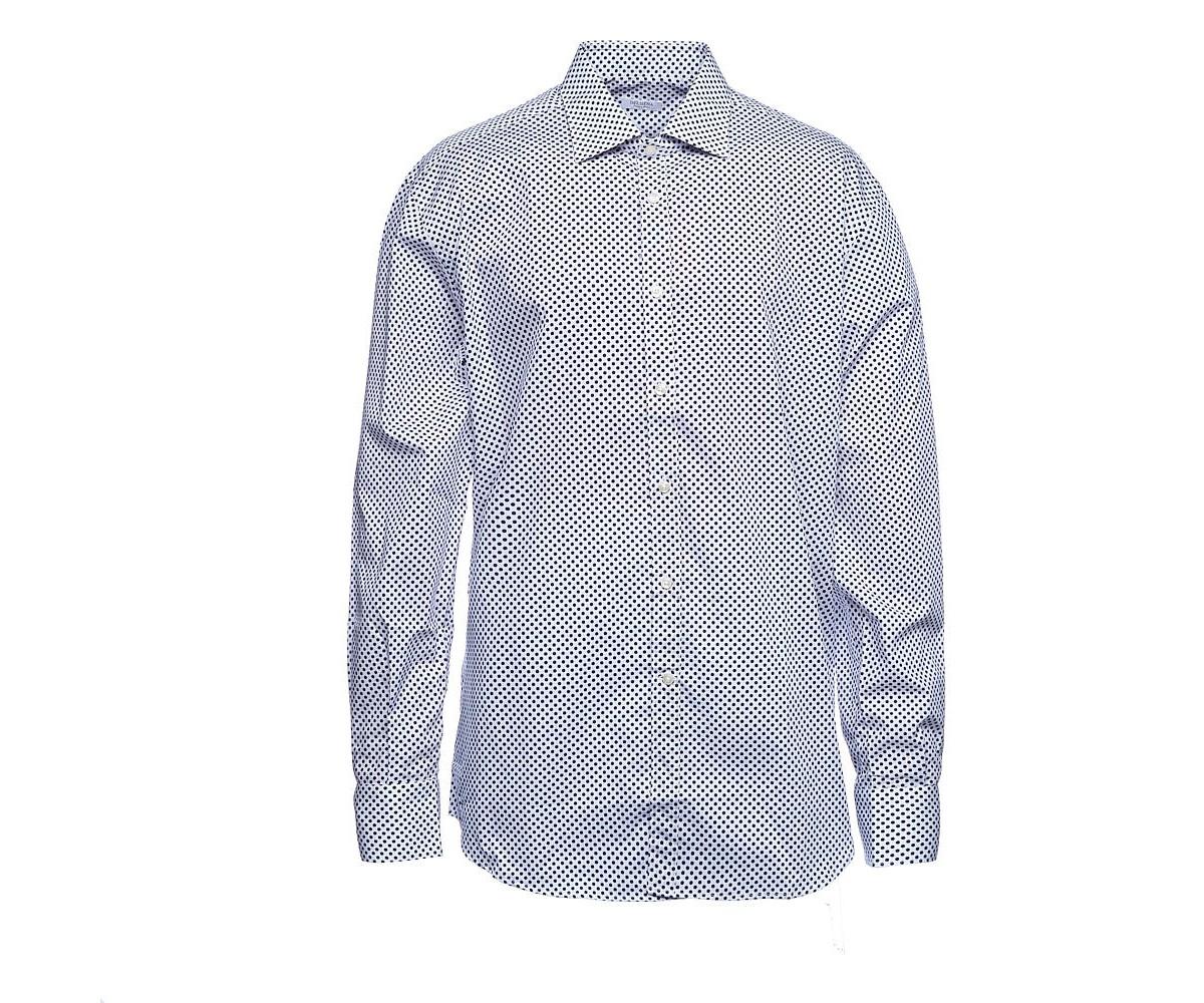 Мужская рубашка с длинным рукавом, принт, Delsiena