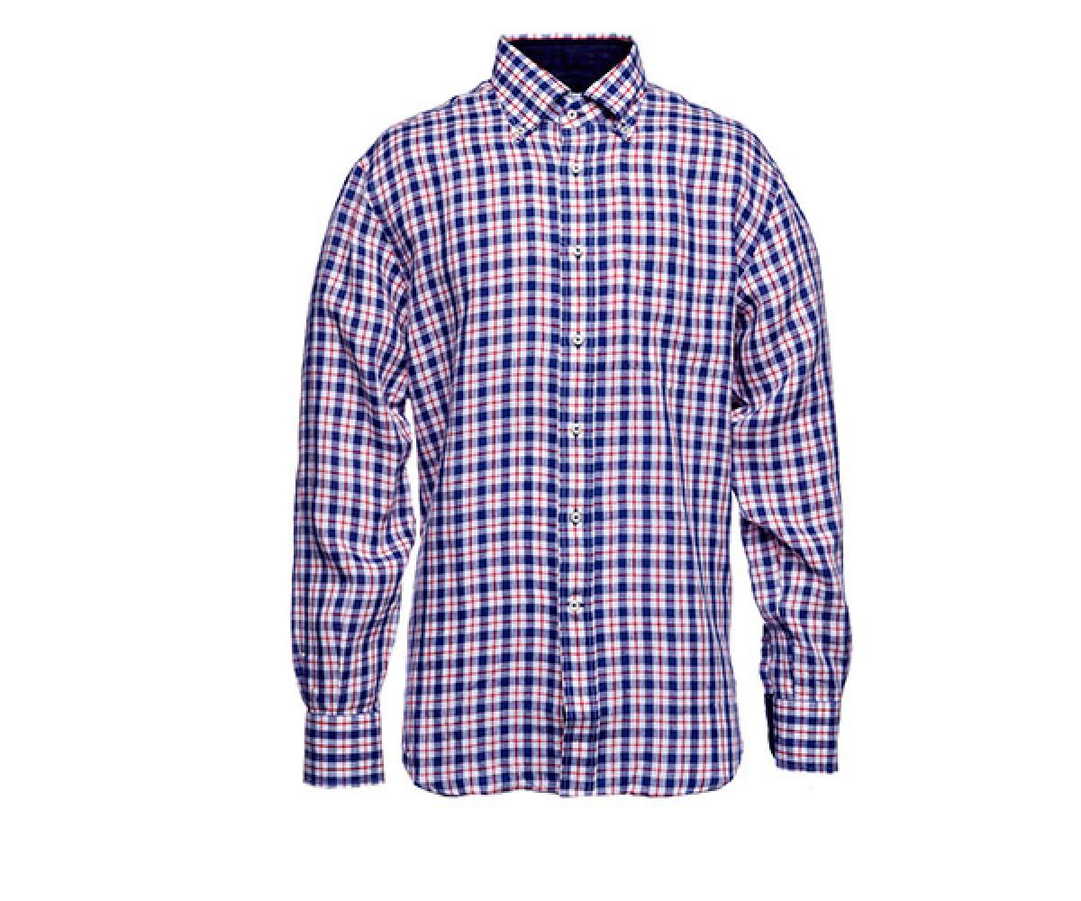 Мужская рубашка льняная Delsiena