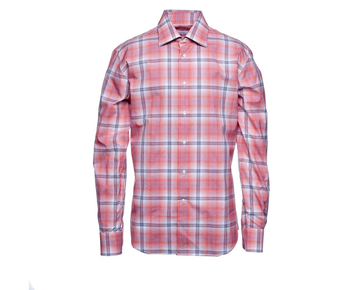 Рубашка в крупную клетку Delsiena